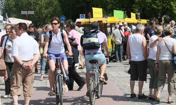 Radwegnutzung noch möglich?